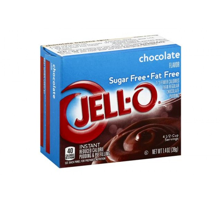 Jell-O Chocolate Sugar Free & Fat Free Instant Pudding & Pie Filling