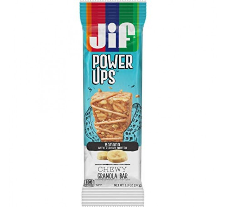 Jif Power Ups, Chewy Chocolate Granola Bar (37g)