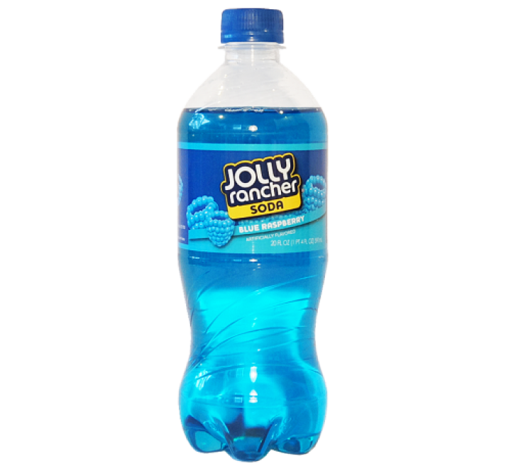 Jolly Rancher Soda, Blue Raspberry (591ml)