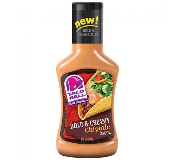 Taco Bell Bold & Creamy Chipotle Sauce (237ml)