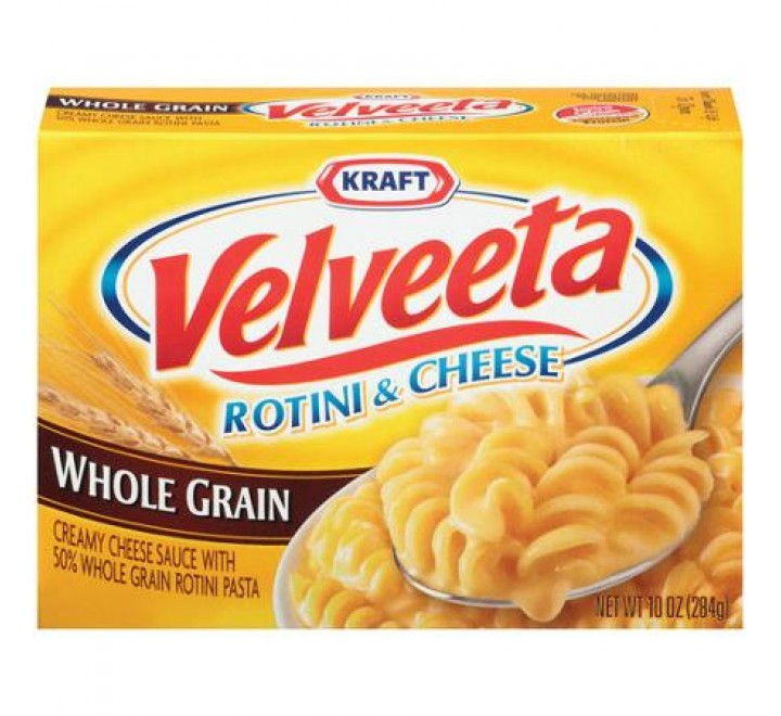Kraft Whole Grain Velveeta Rotini & Cheese (284g)