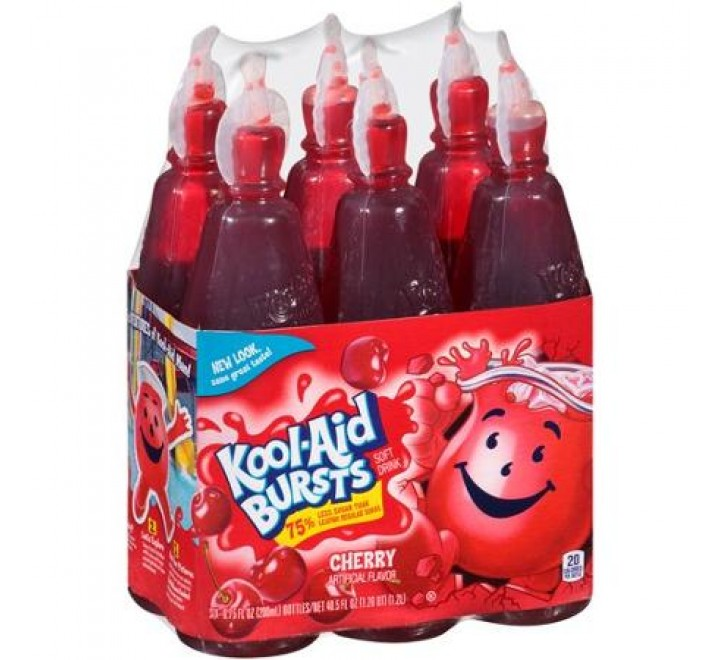 Kool-Aid Bursts Cherry Soft Drink, 6-Pack (1.2L)