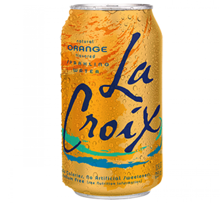 La Croix Sparkling Water, Orange (355ml)