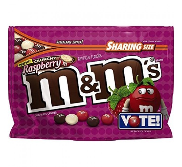 M&M's Crunchy Raspberry, Sharing Size (226g)