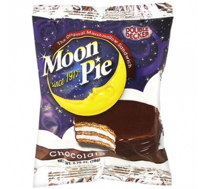 Chattanooga Moon Pie, Chocolate (78g)(BEST BY 15-03-21)