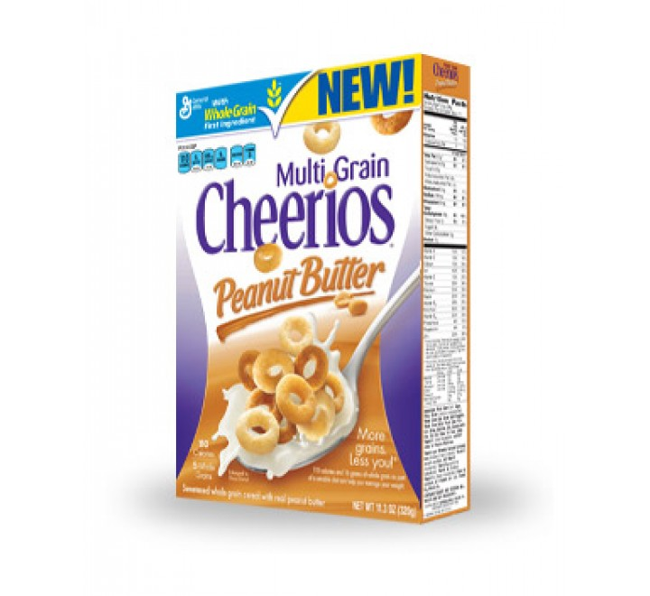 Cheerios Peanut Butter Multigrain (320g)