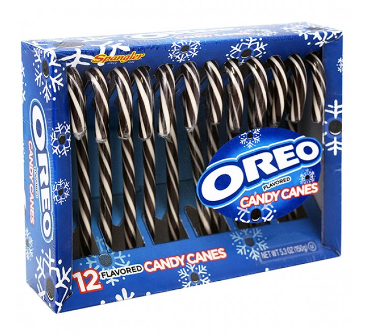Spangler Oreo Flavored Candy Canes (12-pack)