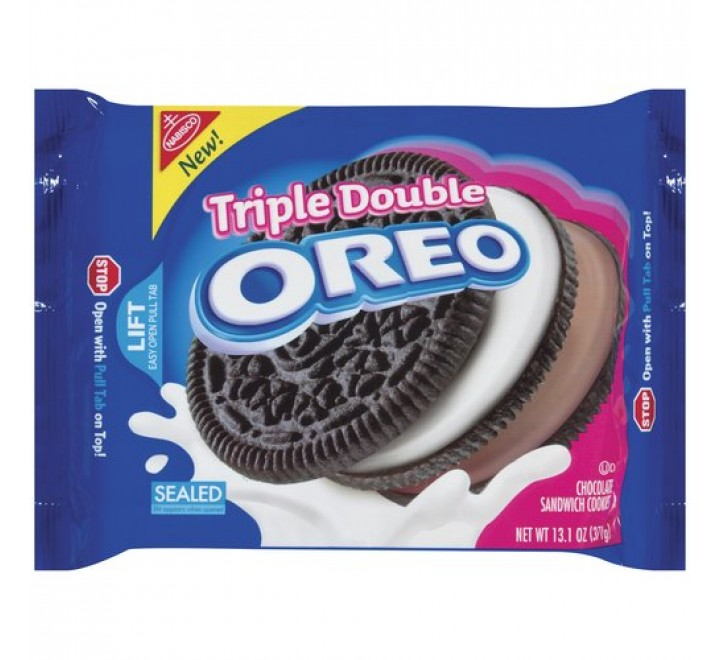 Oreo Triple Double Stuf Chocolate (371g)
