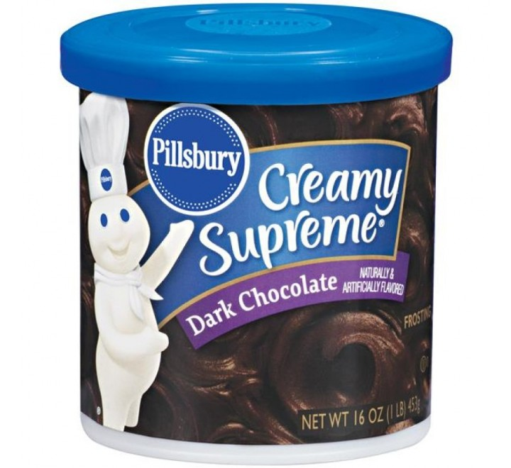 Pillsbury Creamy Supreme Dark Chocolate Frosting (442g)