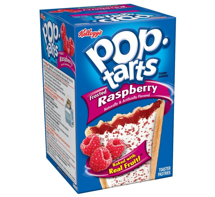 Pop-Tarts Raspberry, Frosted