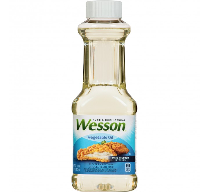 Wesson Pure Vegetable Oil (473ml)