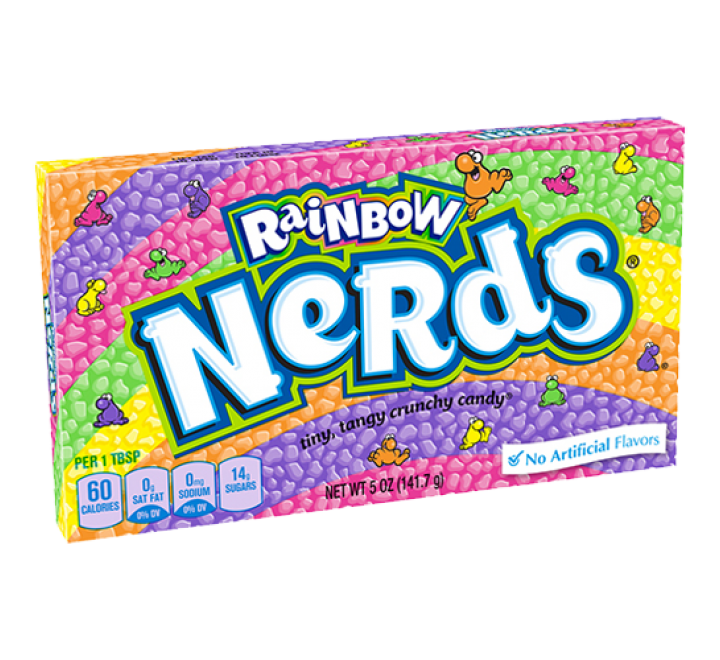 Nestlé Rainbow Nerds (141g)