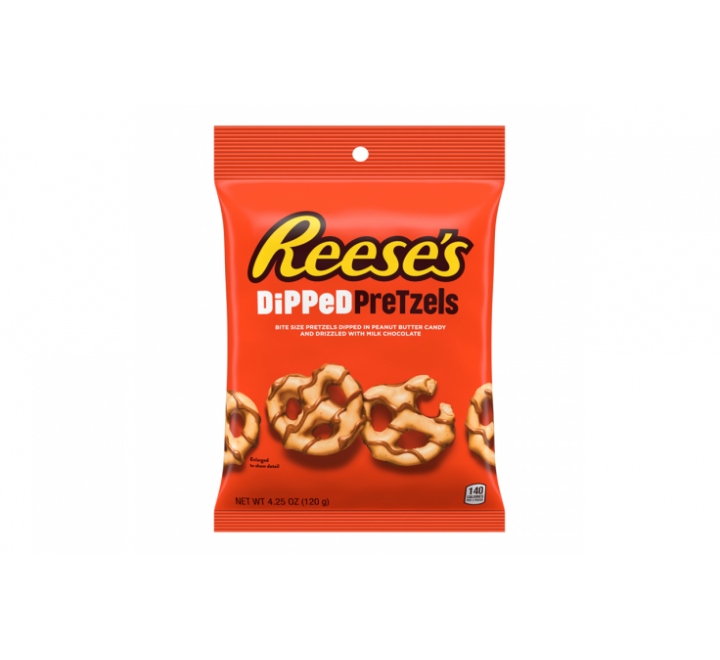Reese's Dipped Pretzels Milk Chocolate (120g)