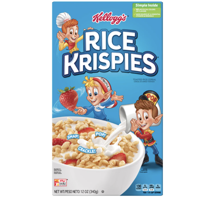 Kellogg's Rice Krispies Cereal (340g)