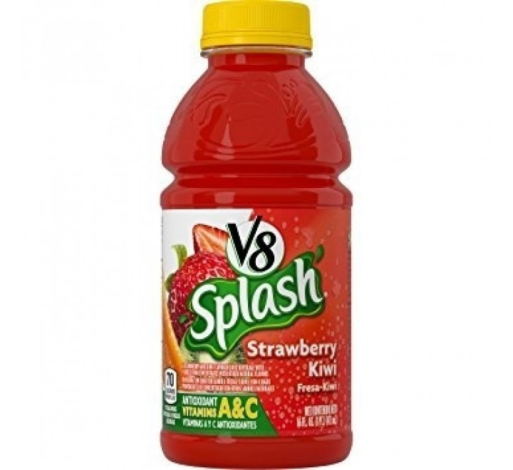 V8 Splash, Strawberry Kiwi (473ml)