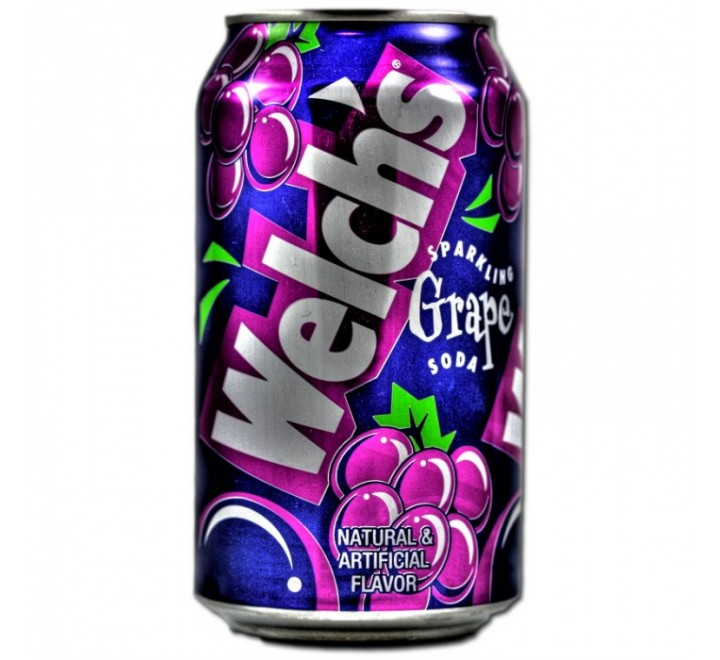 Welch's Sparkling Grape Soda (355ml) USfoodz