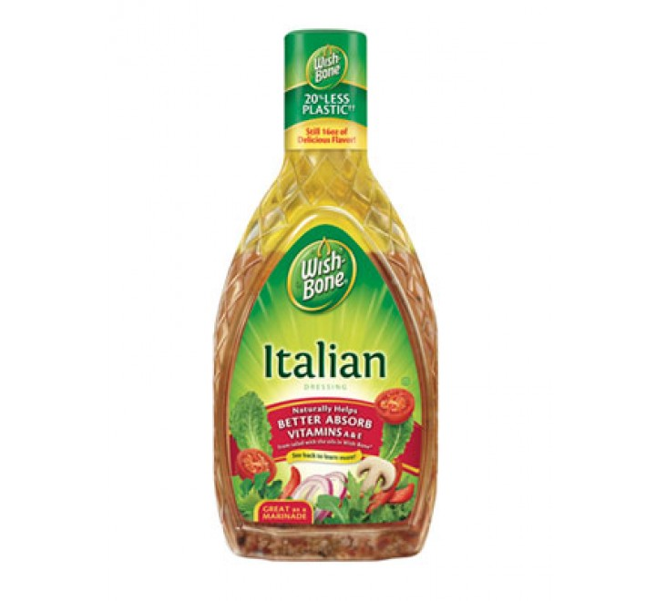 Wish-Bone Italian Dressing (444ml)