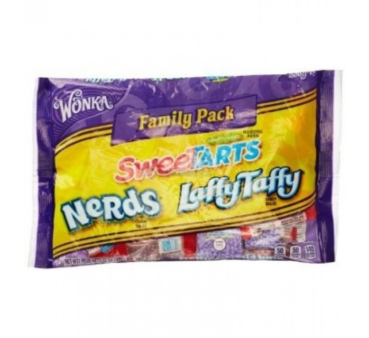 Wonka Family Pack SweeTarts Nerds Laffy Taffy (340g)