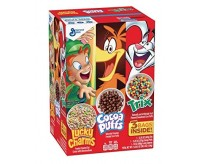 Triple Pack Cereal: Lucky Charms - Trix - Cocoa Puffs (1kg)