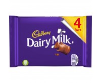 Cadbury Dairy Milk 4 Pack (117g)