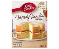 Betty Crocker Velvety Vanilla, Cake Mix (400g)