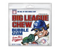 Big League Chew Bubble Gum, Outta Here Original (60g)
