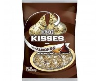Hershey's Kisses, Milk Chocolate With Almonds (150g)