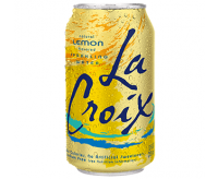 La Croix Sparkling Water, Lemon (355ml)
