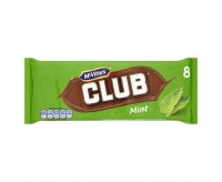 Mcvitie's Club Mint Chocolate Biscuit (176g)
