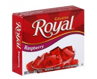 Royal Gelatin Raspberry (40g)