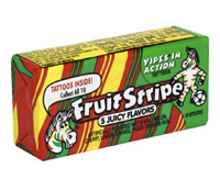 Fruit Stripe Gum, 5 Juicy Flavors (17 sticks)