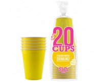 The Original Cup Yellow - 20 Cups (532ml)
