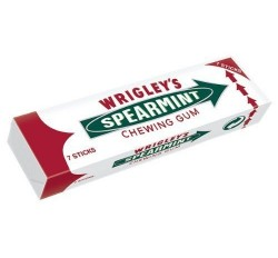 Wrigley's Spearmint Chewing Gum (18g) (BEST BY: 07-04-21)