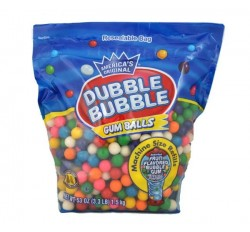 Dubble Bubble Assorted Gumballs Refill (1,5kg)