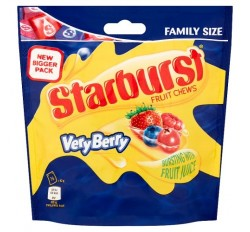 Starburst Fruity Chews Very Berry, Bag (210g)