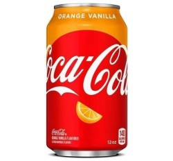 Coca-Cola Orange Vanilla (355ml)