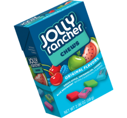 Jolly Rancher Fruit Chews Original Box