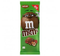 M&M's Minis Chocolate Bar, Hazelnut (165g)