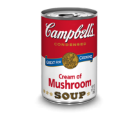Campbell's Cream of Mushroom Soup (295g)