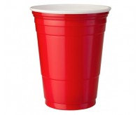 American Cups, Red (25 Pack) (473ml)