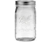 Ball Mason, Half Gallon Jar, Wide Mouth (64OZ)