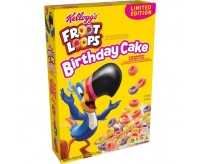 Kellogg's Froot Loops Cereal, Birthday Cake (286g)