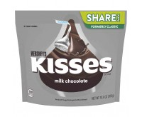 Hershey's Kisses, Milk Chocolate With Almonds - Share Pack (283g)