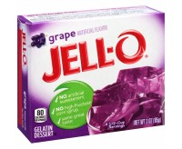 Jell-O Gelatin Dessert, Grape (85g)