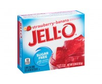 Jell-O Sugar Free, Strawberry-Banana Gelatin (8g)