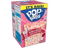 Pop-Tarts Strawberry Milkshake, Frosted (384g)