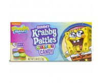 SpongeBob Gummy Krabby Patties Colors, Theater box (72g)