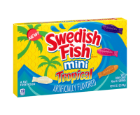Swedish Fish Mini Tropical, Theater box (99g)